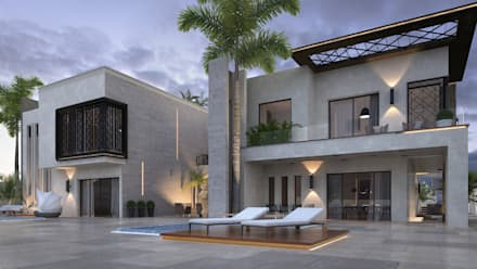 Residential villa complex:  Multi-Family house by SIA design studio