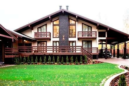 Terrace house by Творческая мастерская АRTBOOS