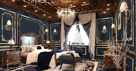 Emirates Project: classic Bedroom by Rêny