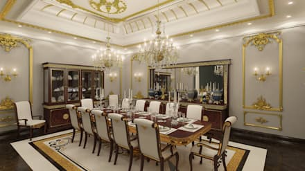 Emirates Project: classic Dining room by Rêny