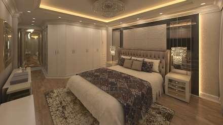 Flat in El Rehab : eclectic Bedroom by Rêny