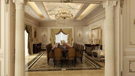 Classic Villa Reception : classic Dining room by Rêny