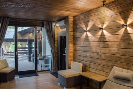 Sauna von Творческая мастерская АRTBOOS