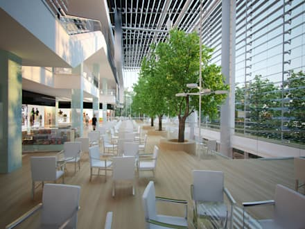 Atrium:  Shopping Centres by AR Architecture