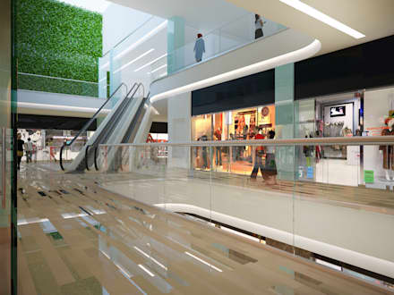 Retail Gallery Don-Plaza:  Shopping Centres by AR Architecture