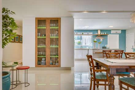Kitchen units by Estúdio Pantarolli Miranda - Arquitetura, Design e Arte