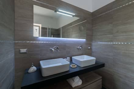 mediterranean Bathroom by ABBW angelobruno building workshop