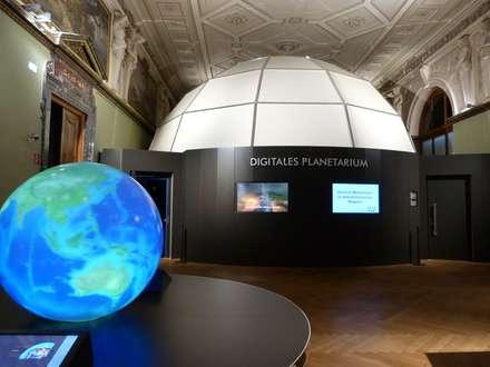 Planetarium von Außen:  Museen von Ing. Christian Weißmann Ges.m.b.H.