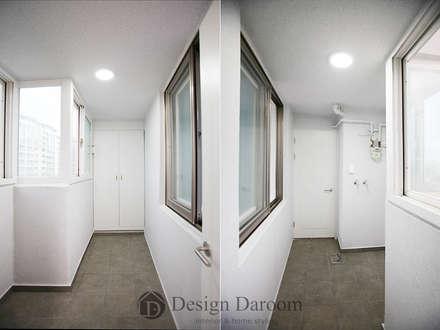 일산 성원3차 Apt: Design Daroom 디자인다룸의  차고