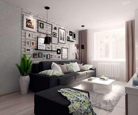 ห้องนั่งเล่น by ARTWAY центр профессиональных дизайнеров и строителей