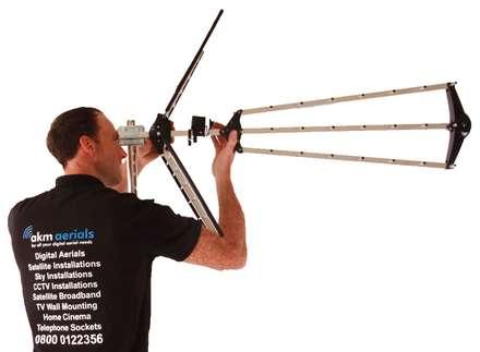 Aerial installation Minchinhampton:  Electronics by Minchinhampton Aerials
