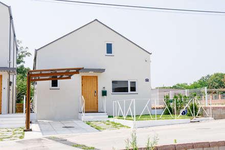 本[bon].집1: AAPA건축사사무소의  일세대용 주택
