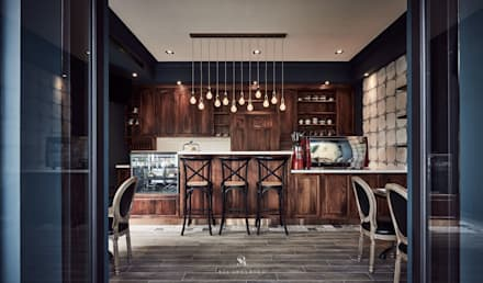 In's Cafe:  餐廳 by 理絲室內設計有限公司 Ris Interior Design Co., Ltd.