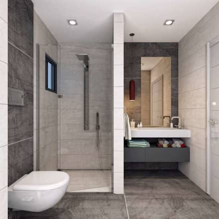 Vero Concept Architects – Symphony Villa - Güzelbahçe İzmir: modern tarz Banyo