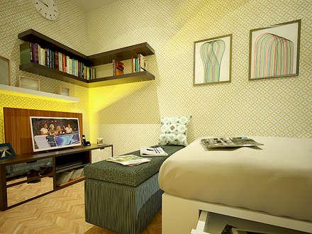 Tipe Studio:  Ruang Keluarga by SEKALA Studio