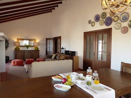 Monte do Alento- Turismo Rural: Hotéis  por Rita Glória interior design