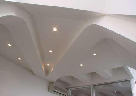 Decke mit Spot-Lights:  Bürogebäude von Ing. Christian Weißmann Ges.m.b.H.
