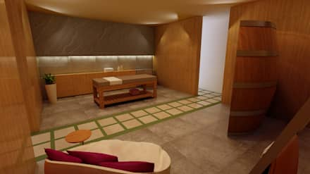 Concept wellness - spa : Spa in stile In stile Country di Gualtiero Del Zompo  dzarch