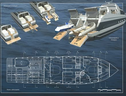 modern Yachts & jets by Gualtiero Del Zompo  dzarch