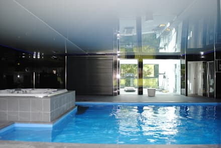 House in Eastleigh: modern Pool by LA Hally Architect