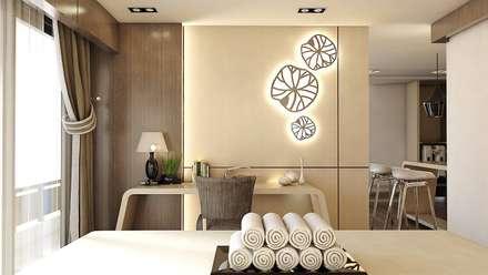 Nadee10 Hotel KhonKaen:  ห้องนอน by HEAD DESIGN