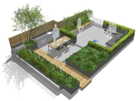 Tetto a terrazza: Idee, immagini e decorazione | homify