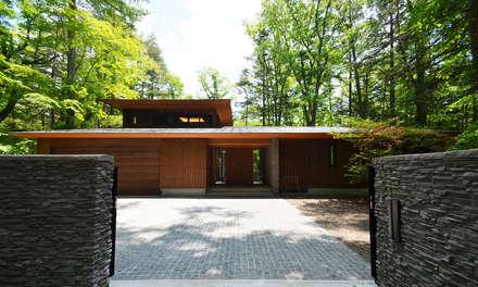 精進場川の家: 鎌田建築設計室が手掛けた家です。