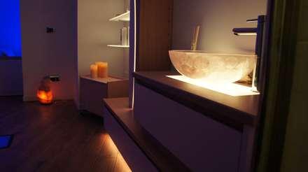 ARMONY SPA-CE: Spa in stile in stile Moderno di Studio Stefano Pediconi
