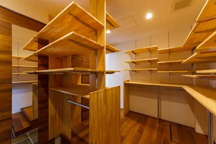 modern Dressing room by 一級建築士事務所haus