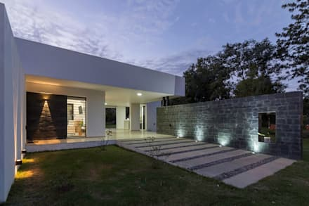 Casa CC - RESIDENCIA DE FIN DE SEMANA: Casas de estilo moderno por D'Odorico Arquitectura & Obras