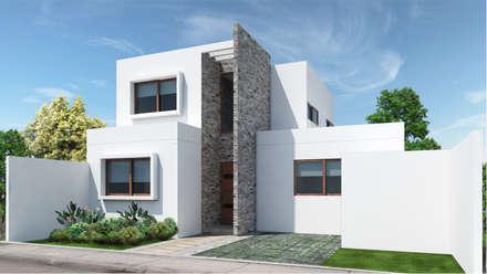 Condominio Altos de nos: Condominios de estilo  por NEF Arq.