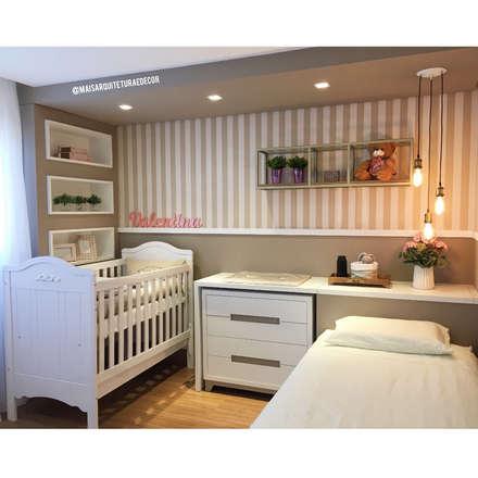 غرف الرضع تنفيذ Mais Arquitetura