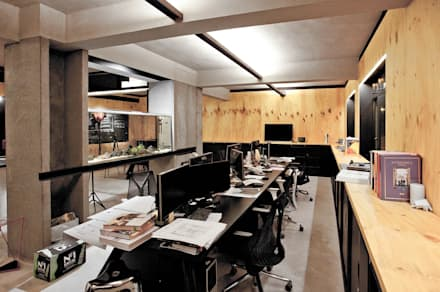 Freeman's Production Studio:  Office buildings by Artta Concept Studio