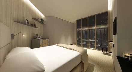 Sorrento Tower: modern Bedroom by Artta Concept Studio