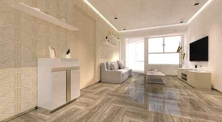 Regal Court : modern Living room by Artta Concept Studio