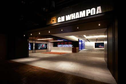 Golden Harvest Whampoa:  Commercial Spaces by Artta Concept Studio
