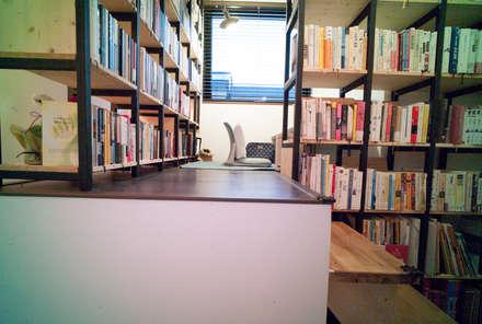 Layer House: Prime Architecture의  서재 & 사무실