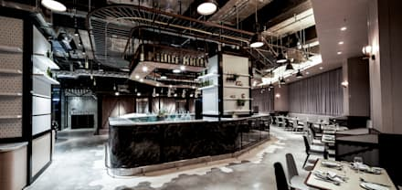 Bars & clubs by Artta Concept Studio