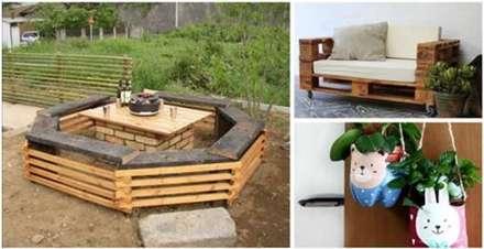 : rustikaler Garten von homify