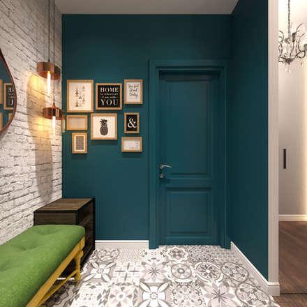 Квартира в ЖК Спасский мост: Коридор и прихожая в . Автор – Loft&Home