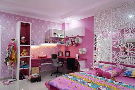 Photo Project:  Kamar tidur anak perempuan by Multiline Design