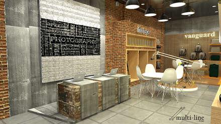 Digital One Stop Solution - Jakarta:  Kantor & toko by Multiline Design