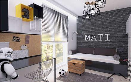 غرفة نوم أولاد تنفيذ ZIN Studio