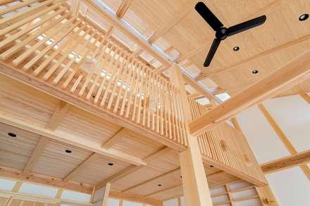 双子のibushiの舎: SSD建築士事務所株式会社が手掛けた屋根です。