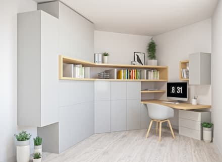 country Study/office by Kinkonz