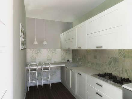 la cucina: Cucina in stile in stile Moderno di Flavia Benigni Architetto