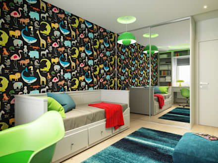 Apartment in Tomsk: modern Nursery/kid's room by EVGENY BELYAEV DESIGN