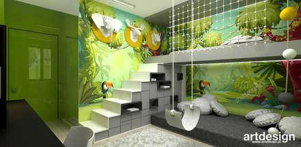 READ BETWEEN THE LINES | II | Wnętrza apartamentu: styl , w kategorii Pokój dziecięcy zaprojektowany przez ARTDESIGN architektura wnętrz