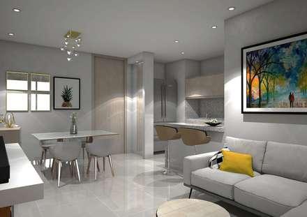 : Comedores de estilo moderno por Savignano Design