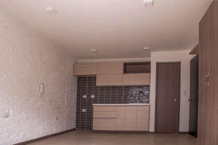 Apartamento 4: Cocinas de estilo ecléctico por santiago dussan architecture & Interior design